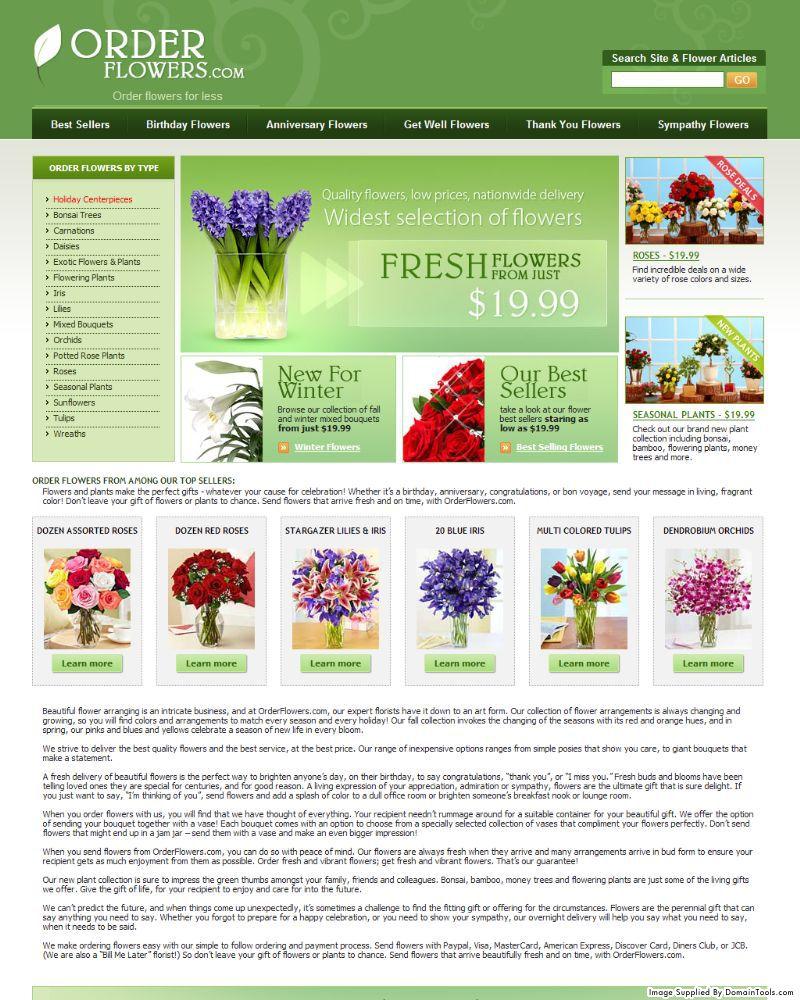 Orderflowers